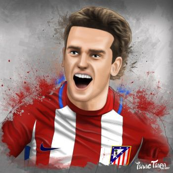 Griezmann by isaactiapa