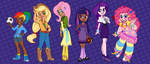 Equestria Girls by WizardWannabe