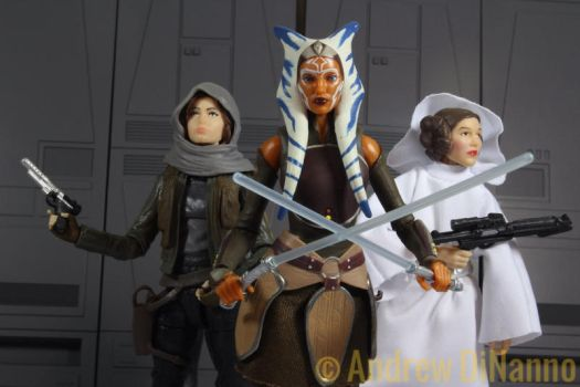 Girl Power Star Wars Style by GhostLord89