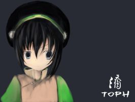 Toph Cheer Up XD by FadeAgony