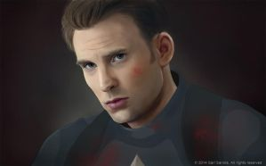 Captain America by SariSariola