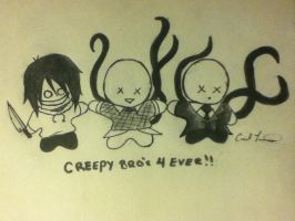 Creepy Bros 4 Ever!! by Catnap2020