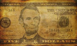 US Dollar - Grunge by tonemapped