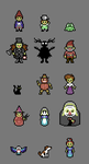 Over the Garden Wall C64 Palette by JustinGameDesign