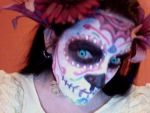 sugar skull 1st attempt by Shewbacca