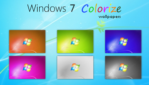 Windows 7 Colorize wallpapers by deskmundo