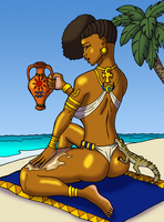 Cleopatra's Tanning Elixir by BrandonSPilcher