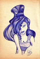 .::Megara::. by The-Pen-Freak