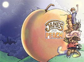 James and the Giant Peach by H0lyhandgrenade