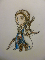Chibi Connor Kenway by BleedingIvory