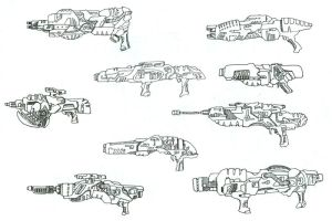 Weapon Concepts by Lean-V
