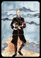Heydrich tarot page of cups by hello-heydi