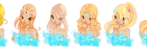 Hanna - Transformations Portraits by ColorfullWinx