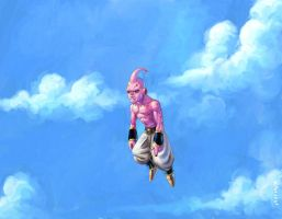Kid Buu by CamaraSketch