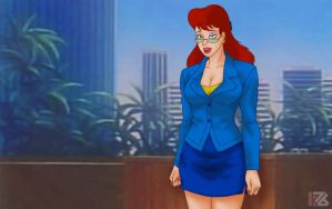 Extreme Ghostbusters. Janine Melnitz 6 by K76