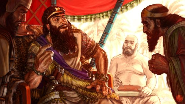 Sargon of Akkad the first emperor by neutronboar
