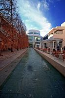 Getty Center Fountain by ChibiLavos