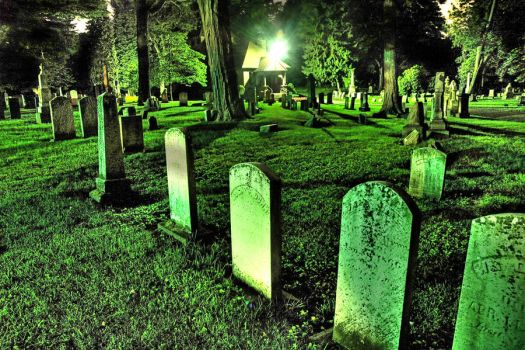 Green light Graveyard by Mischieft