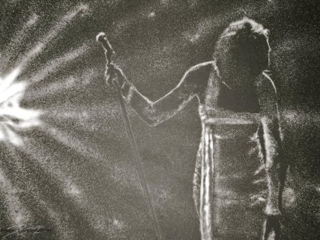 Whitney Houston Tribute in Sugar by TheKrystleGallery