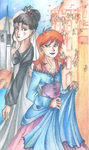 Inkheart: Violante and Brianna by Annorelka