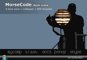 MorseCode dock icons by Carburator