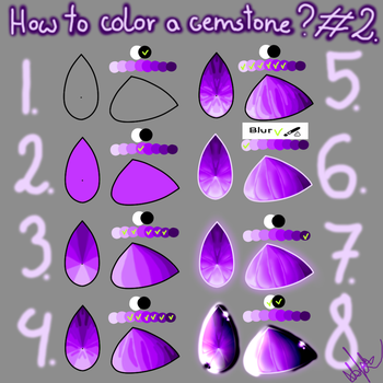 How to color a gemstone? #2 by DestructionOfBreeds