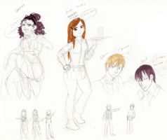 character designs EROS by NevynS
