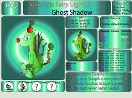 Pokemon Fairy Light and Ghost Shadow ''002'' by AndkeAnka