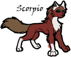 Scorpio by ghosty-Cat