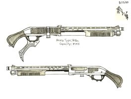 Liza Sokolov's Custom Shotgun (Early Ver.) by RedW0lf777sg