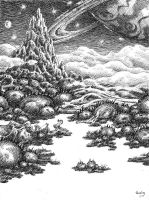 Swamp of the sixth planet of Betelgeuse by GwilymG