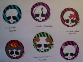 Skulls and Skullettes Part I by MadHatterTeaParty-10