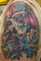Day of the Dead Lady by Dripe