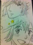 Ranka and Alto Rough by neko-riddles