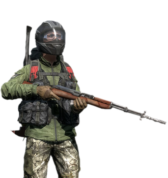 DayZ Character Render by DogBoy74