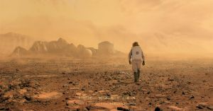 The Martian by Suirebit