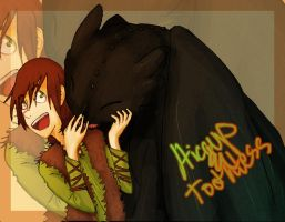 HICCUP AND TOOTHLESS by pitrulz