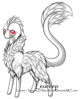 Little albino Leureep -CLOSED- by Dragon-Wolf-Lover