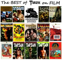 The Best of Tarzan on Film Collage by StevenEly