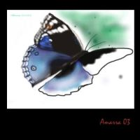 butterfly unfinished by Amarra