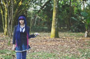 Stocking Cosplay. preview by blackasaraven12