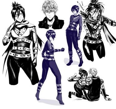 [Doodle Dump] Speed o' Sound Sonic feat. Genos by VIV-I