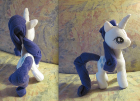 Rarity Plushie by Ferngirl