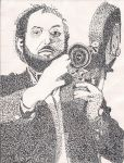 Stanley Kubrick - Stipple Art by Volts48