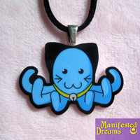Kittybloop necklace by ManifestedDreams
