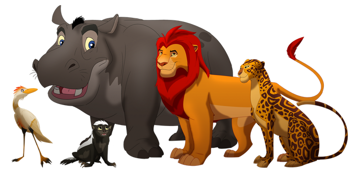 The Lion Guard - Adult TLK style by albinoraven666fanart