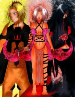 Evolution...Konoha Legends by nejean