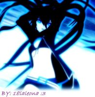 Black rock shooter by 18laleona