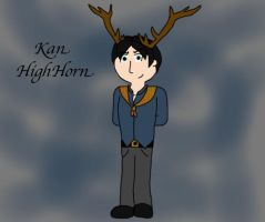 Kan HighHorn by harpseal16