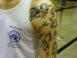 Tattoo at Pokemon Nationals by keyblade5
